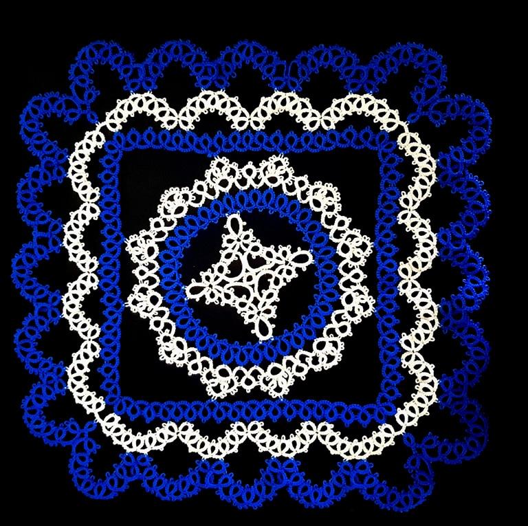 paño o tapete azul 3ª parte
