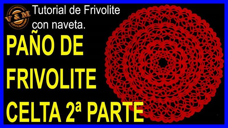 LISTA DE TAPETES Y PAÑOS DE FRIVOLITE